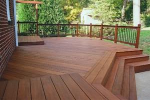 Messmers UV Plus for Hardwood Decks on Ipe