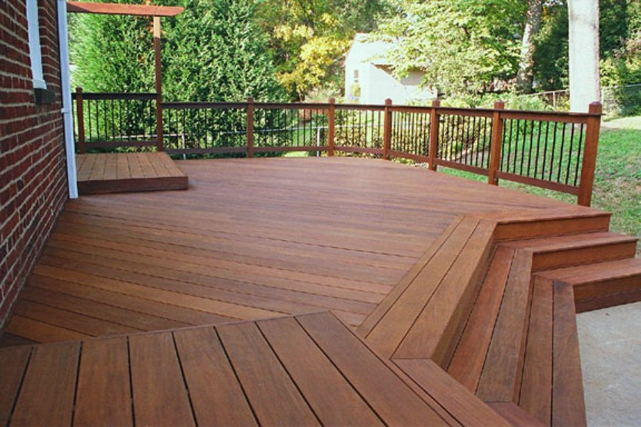 Beauty protection for ipe decks for Hardwood timber decking