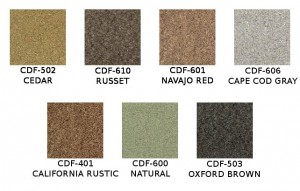 Messmers Composite Deck Stain Colors