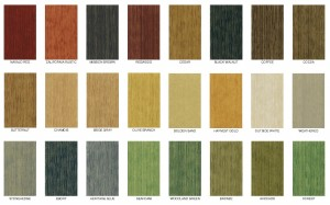 Messmers Decking Stain - Semitransparent Colors