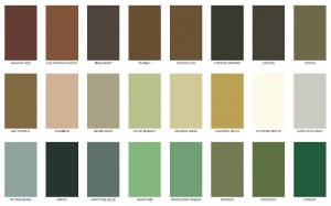 Messmers Decking Stain Solid Color Chart