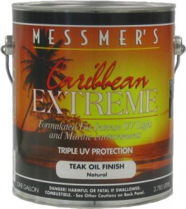 Messmers Caribbean Extreme Teak Oil Finish